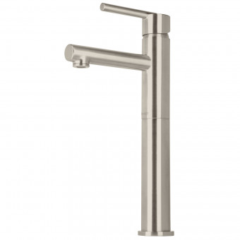 Monomando alto para lavabo. satin. Element