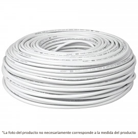 Cable THHW-LS. 10 AWG. color blanco