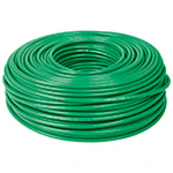 Cable THHW-LS. 10 AWG. color verde