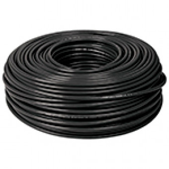 Cable THHW-LS. 12 AWG. color negro