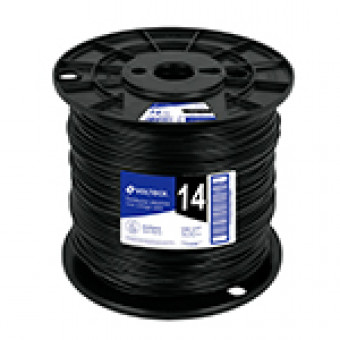 Cable THHW-LS. 12AWG. negro.