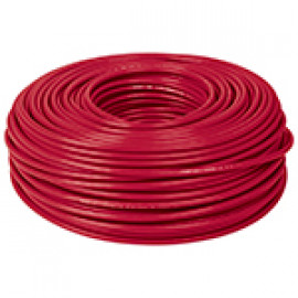 Cable THHW-LS, 12 AWG, color rojo