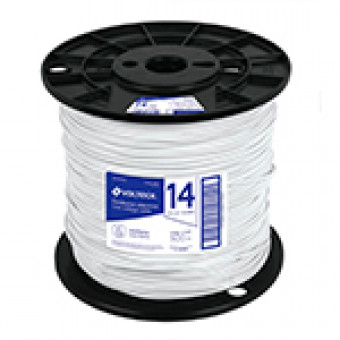 Cable THHW-LS. 14AWG. blanco.