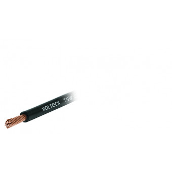 Cable THHW-LS. 8 AWG. color negro