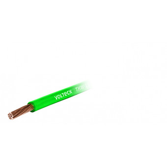 Cable THHW-LS. 8 AWG. color verde