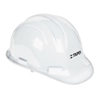 Casco de seguridad color blanco