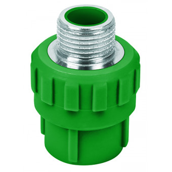 "Conector de PPR. 1/2"". 20mm. macho"